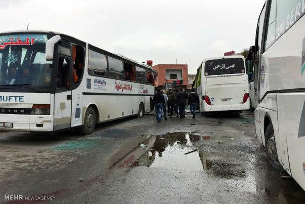 Terrorist attacks in Damascus