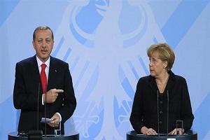 Turkish president calls German chancellor 'terrorist supporter