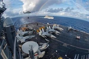 N Korea warns of 'merciless' attacks as US warships join S Korea in war games