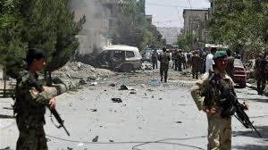 Taliban car bomb hits army base in eastern Afghanistan