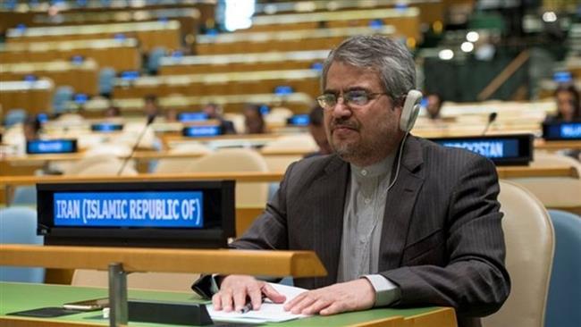Iran UN ambassador calls for destruction of all nuclear weapons