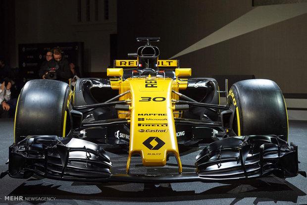 2017 Formula 1 cars