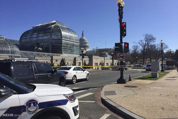 Tight security around US congress
