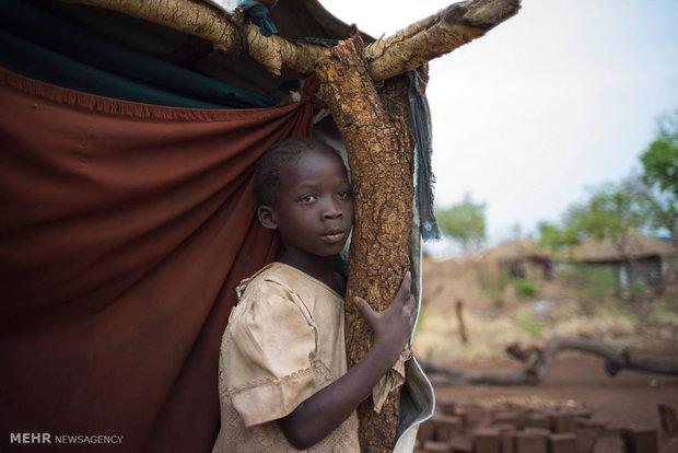 Sudanese refugees in Uganda