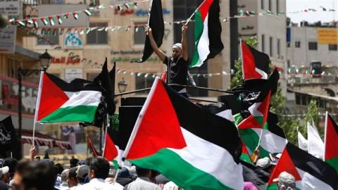 Pro-Palestine activists urge UK to apologize for Balfour Declaration