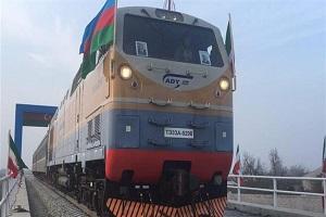 Azerbaijan launches Iran rail link