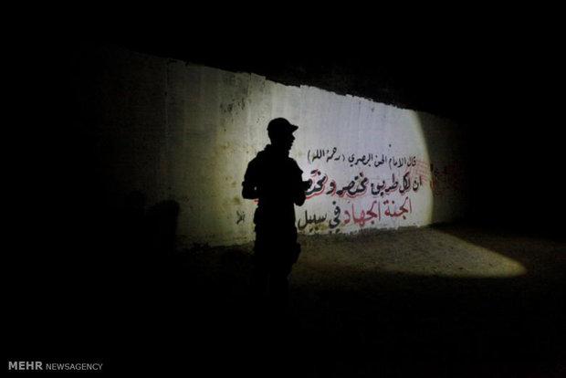 ISIL underground training camp