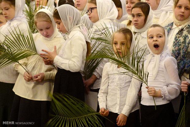 Palm Sunday across the world