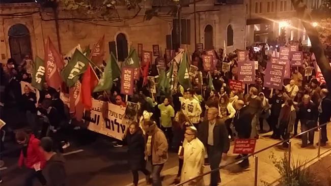 Jews rally in Jerusalem al-Quds to condemn Israeli occupation