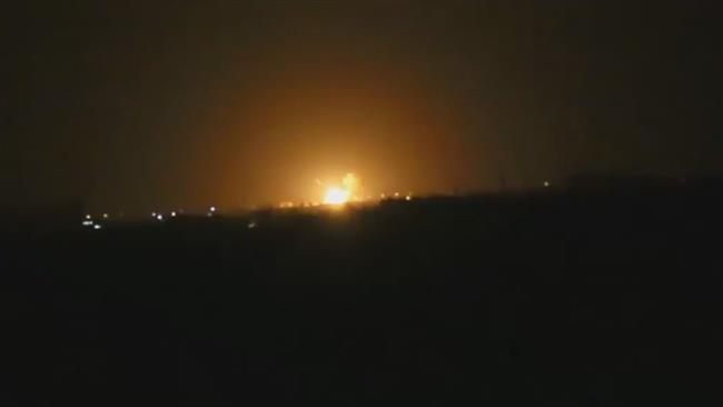 Large blast hits Damascus International Airport