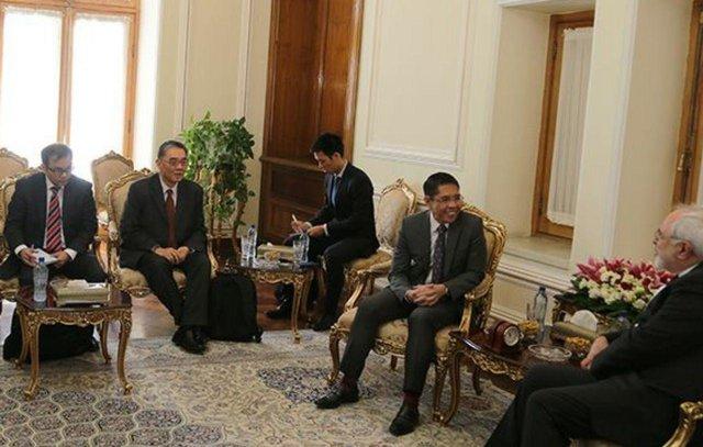 Iran, Singapore discuss mutual ties