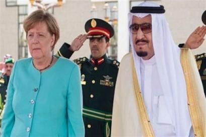 Germany's Merkel tells Saudis to stop war on Yemen as arms sales go on