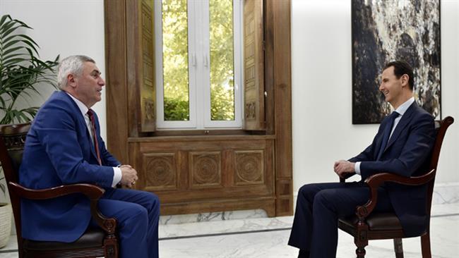 De-escalation plan won't fail in light of Tehran, Moscow support: Assad