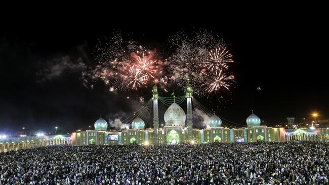 Iran brims with joy on Imam Mahdi's birth anniversary