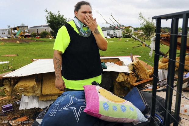 Tornado in central US states