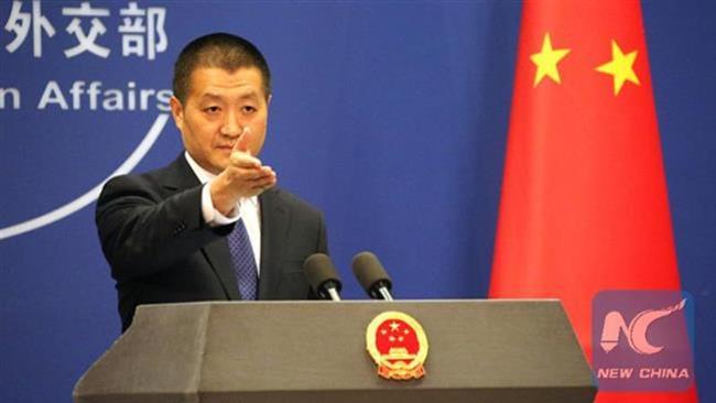 China blasts 'trespassing' by US warship