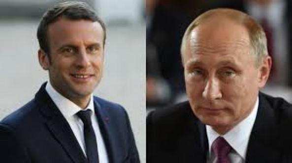Macron to visit Putin in Versailles