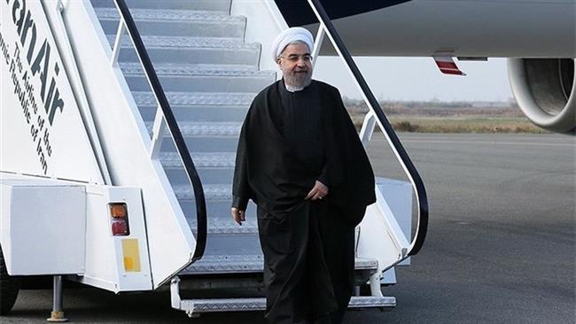 Rouhani in Golestan after coal mine blast kills 35