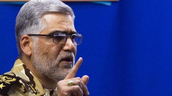 Iran entitled to destroy terrorists' hideout in Pakistan: commander