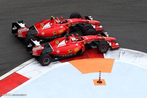Formula 1 cars matches