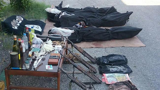 Iran kills 4 terrorists, seizes Daesh flag