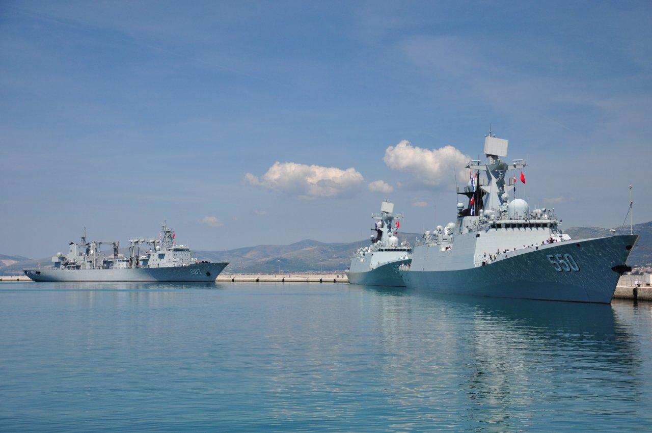 China's Navy flotilla to berth at Iran