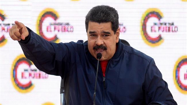 Maduro rebukes Pence for meddling in Venezuela's internal affairs