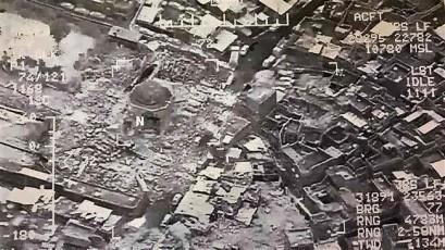 Daesh blows up Mosul's iconic al-Nuri Mosque