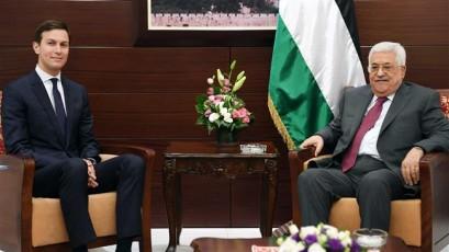US president's son-in-law meets Israeli, Palestinian leaders