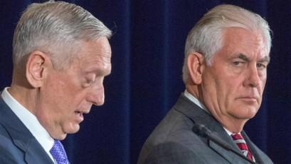 Tillerson, Mattis clarify Trump's China attack
