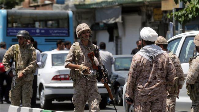Images of terrorist attacks in Tehran
