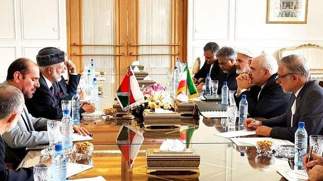 Iran, Oman stress boosting bilateral ties