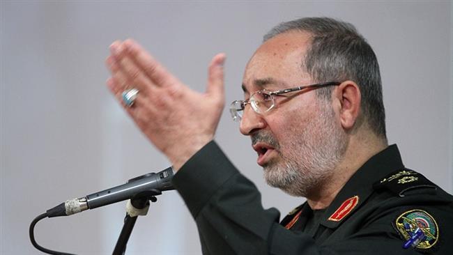 Iran commander slams US regime change 'dream'
