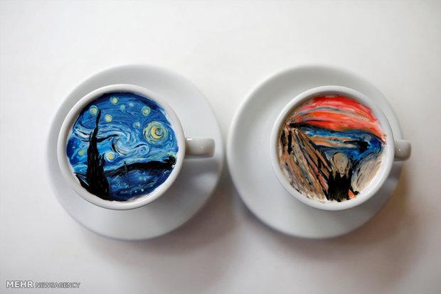 Art on coffee