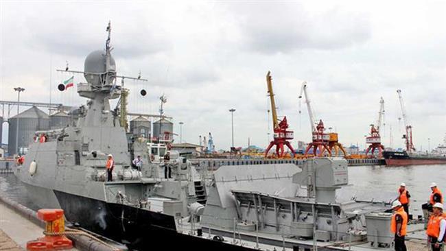 Iran, Russia hold joint naval drills in Caspian Sea