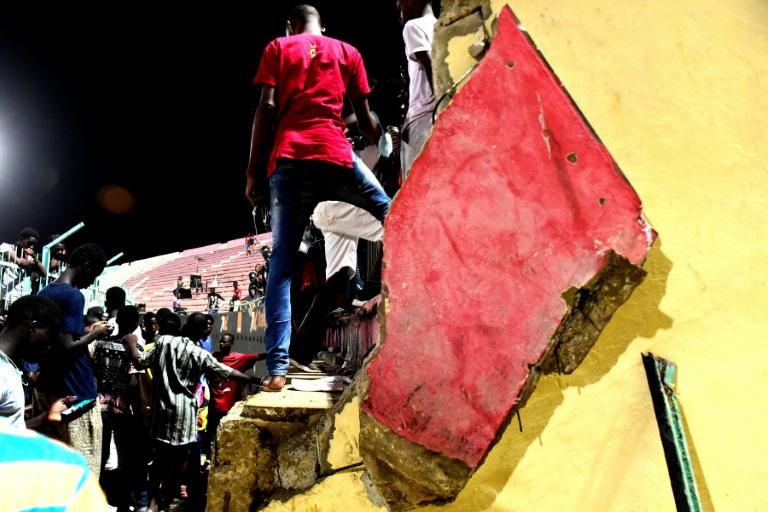 Eight dead in Senegal soccer stadium crush: Minister