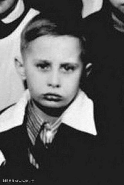 Old photos of Vladimir Putin