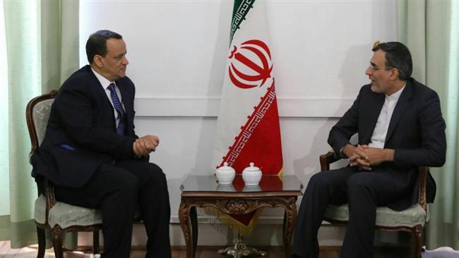 Iran says to back UN efforts to end Yemeni war
