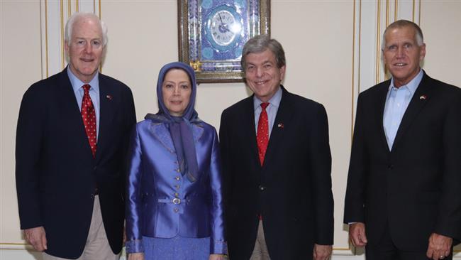 'US using MKO terrorists as anti-Iran leverage'