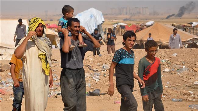 Syrian civilians evade Daesh conscription in eastern Dayr al-Zawr prov.