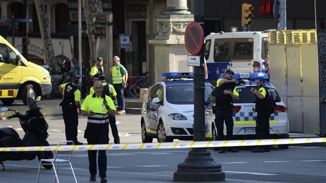 Van plows into crowd in Spain's Barcelona, killing 13