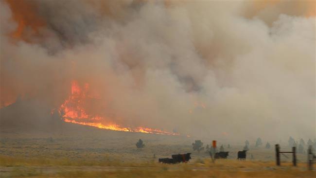 Montana wildfire triggers hundreds of evacuations