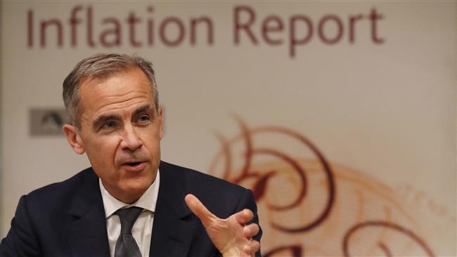 US economic growth to remain 'sluggish': Bank of England