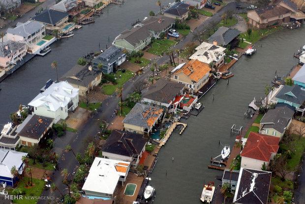 US Harvey Hurricane