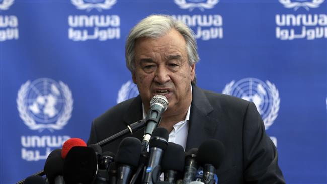 UN chief calls for lifting Gaza blockade