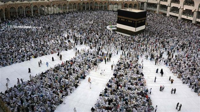 Millions of Muslim pilgrims performing annual Hajj rituals in Saudi Arabia