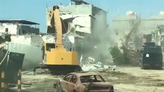 Saudi bulldozers reduce Awamiyah to rubble as residents flee violence