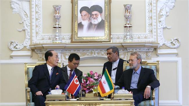 North Korea's resistance against US bullying praiseworthy: Iran's Larijani