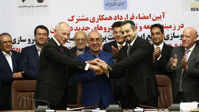 Renault signs landmark auto deal in Iran