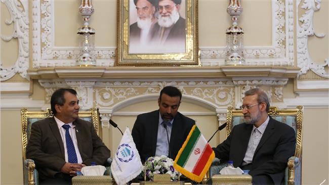 Iran always backs talks over military action: Larijani